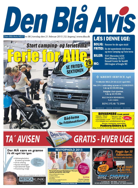 best website b2eaa 76f4f Den Blå Avis VEST 08-2013 by Grafik DBA - issuu