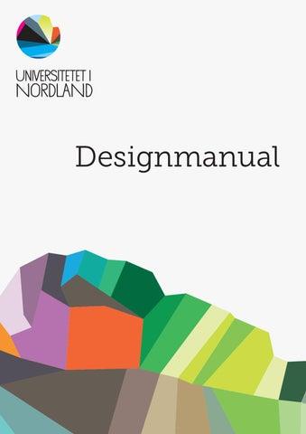 Designmanual By Nord Universitet Issuu