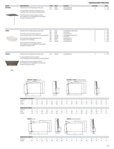 Borek Stresa Parasol.Borek Prijslijst 2013 By Borek Parasols Outdoor Furniture Issuu