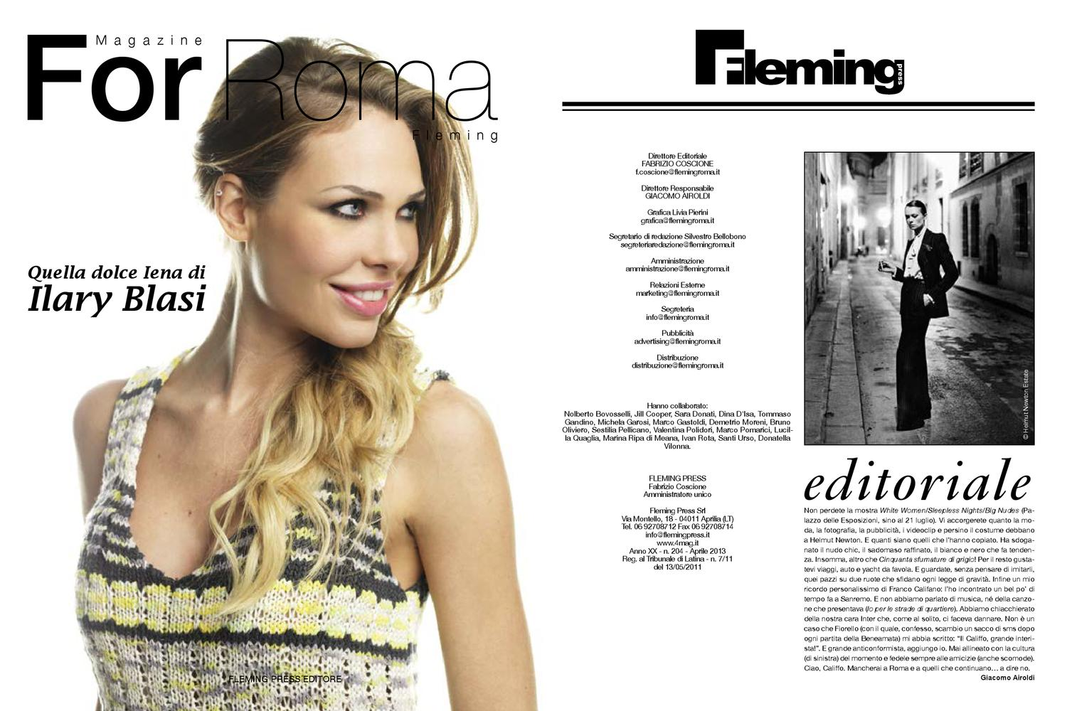 For Roma Aprile 2013 by 4mag magazine - issuu 7dcfd322f34