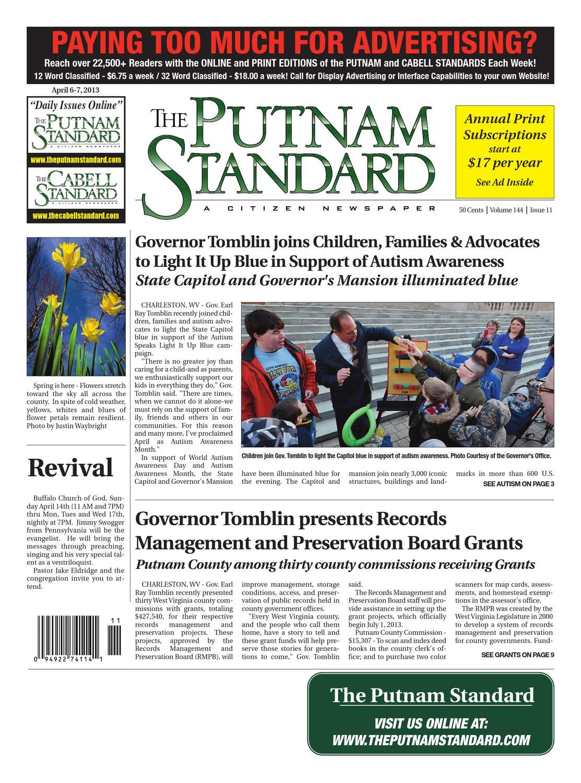 Putnam Standard by PC Newspapers - issuu