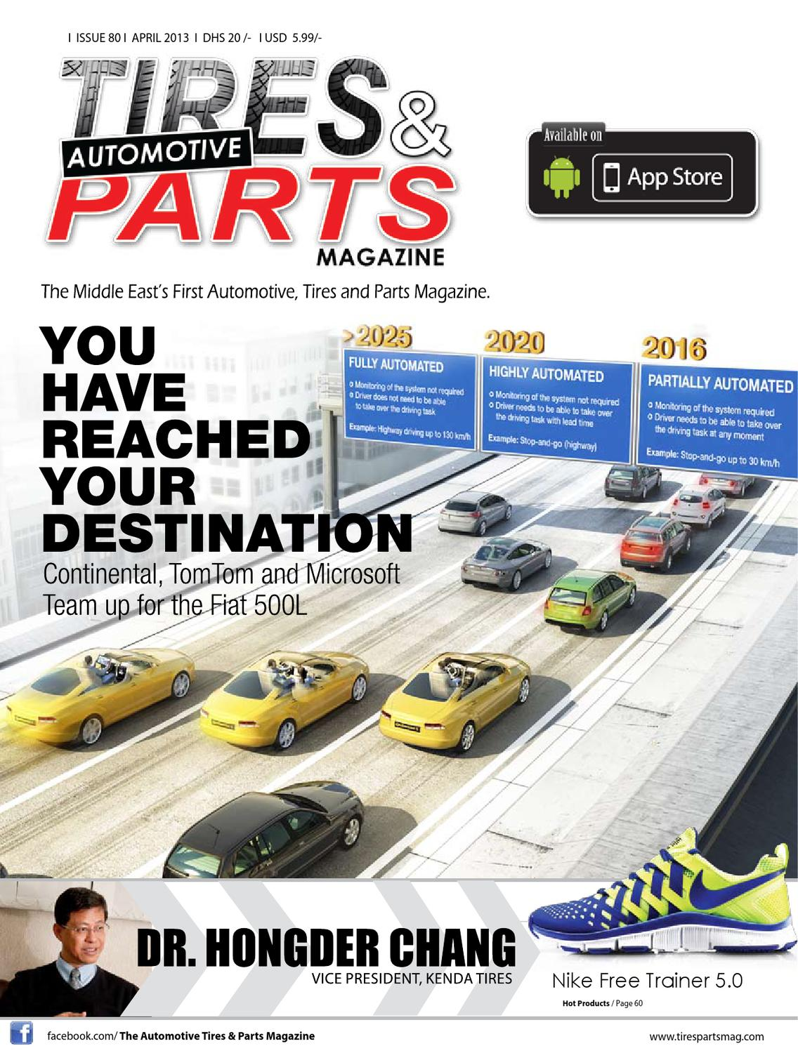 April 2013 By Tires And Parts Magazine Issuu F12 Selfdriving Gps Following Car Embedded Systems Learning