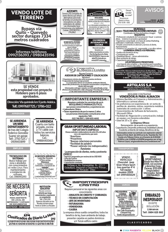 Edición impresa Santo Domingo del 06 de abril de 2013 by Diario La ...