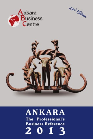 Ankara The Professional S Business Reference C By Cengiz Karaman