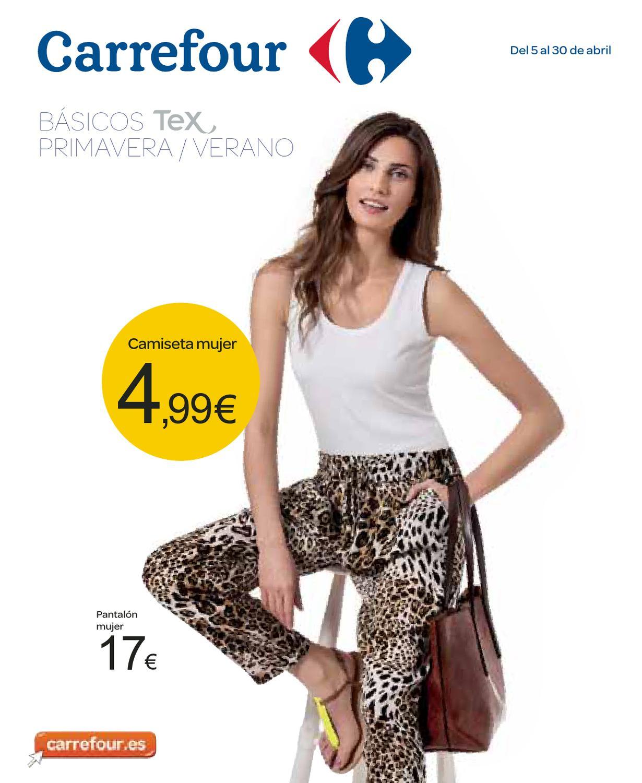 Catalogo-Carrefour-basicos-textil-ropa-TEX-Primavera-Verano by ...