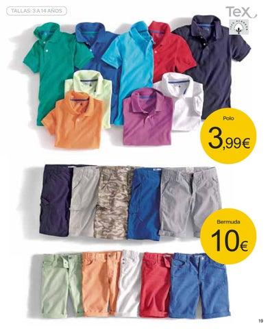 Catalogo Carrefour Basicos Textil Ropa TEX Primavera Verano By ...