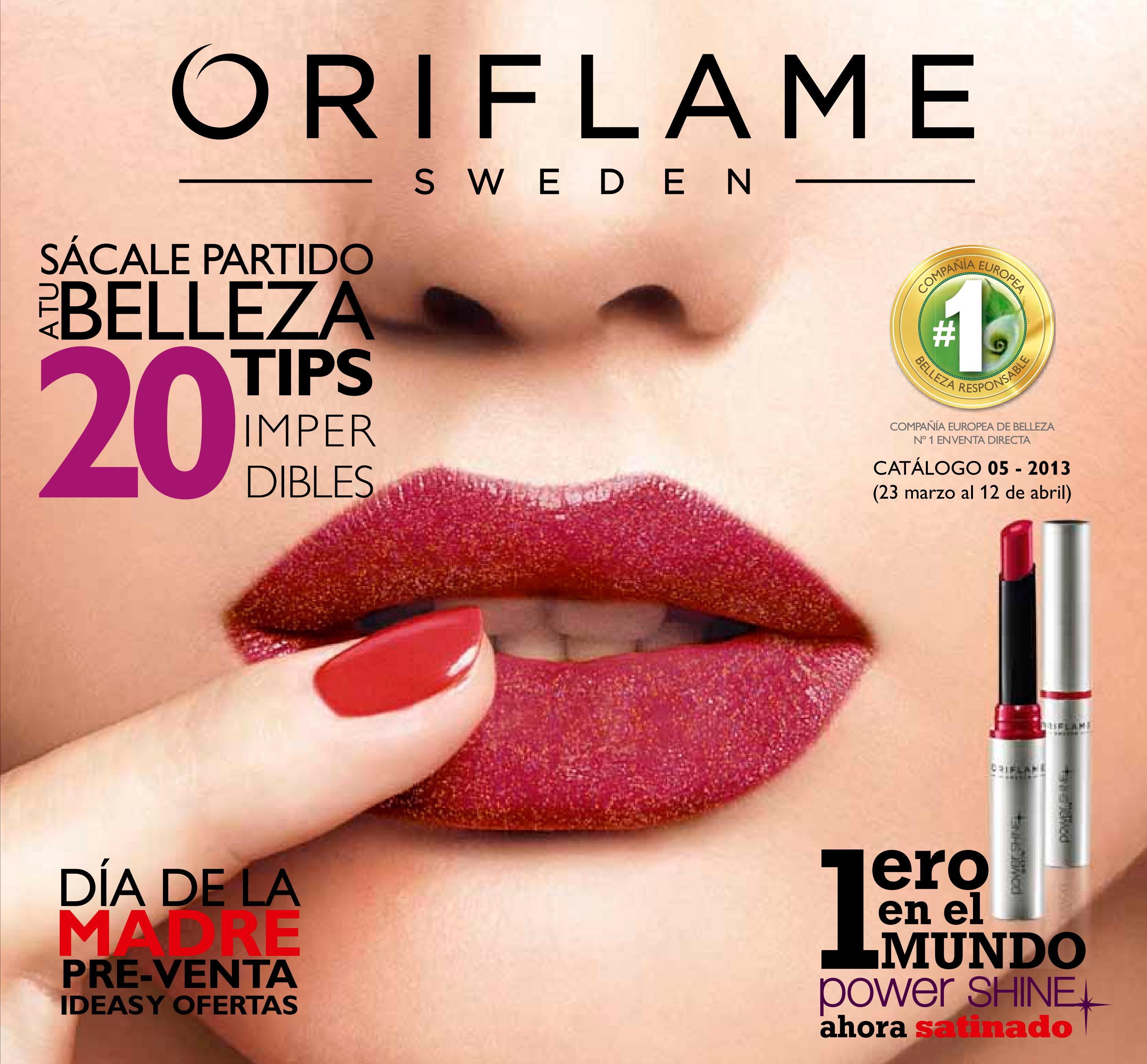 Catalogo - ORIFLAME -Campaña 05 C-05 2013 - Mexico by