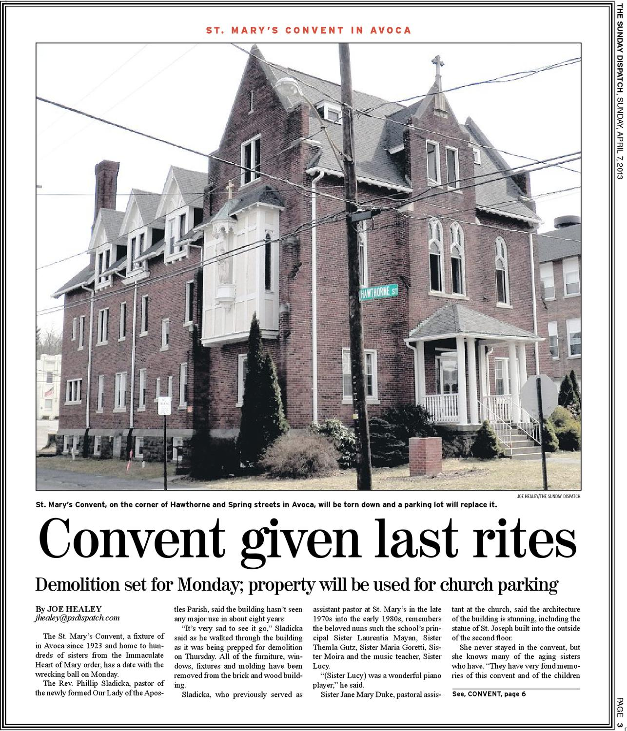 The Pittston Dispatch 04 07 2013 by The Wilkes Barre Publishing
