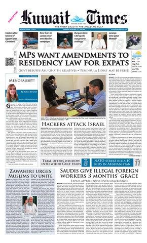 8 Apr 2013 by Kuwait Times - issuu