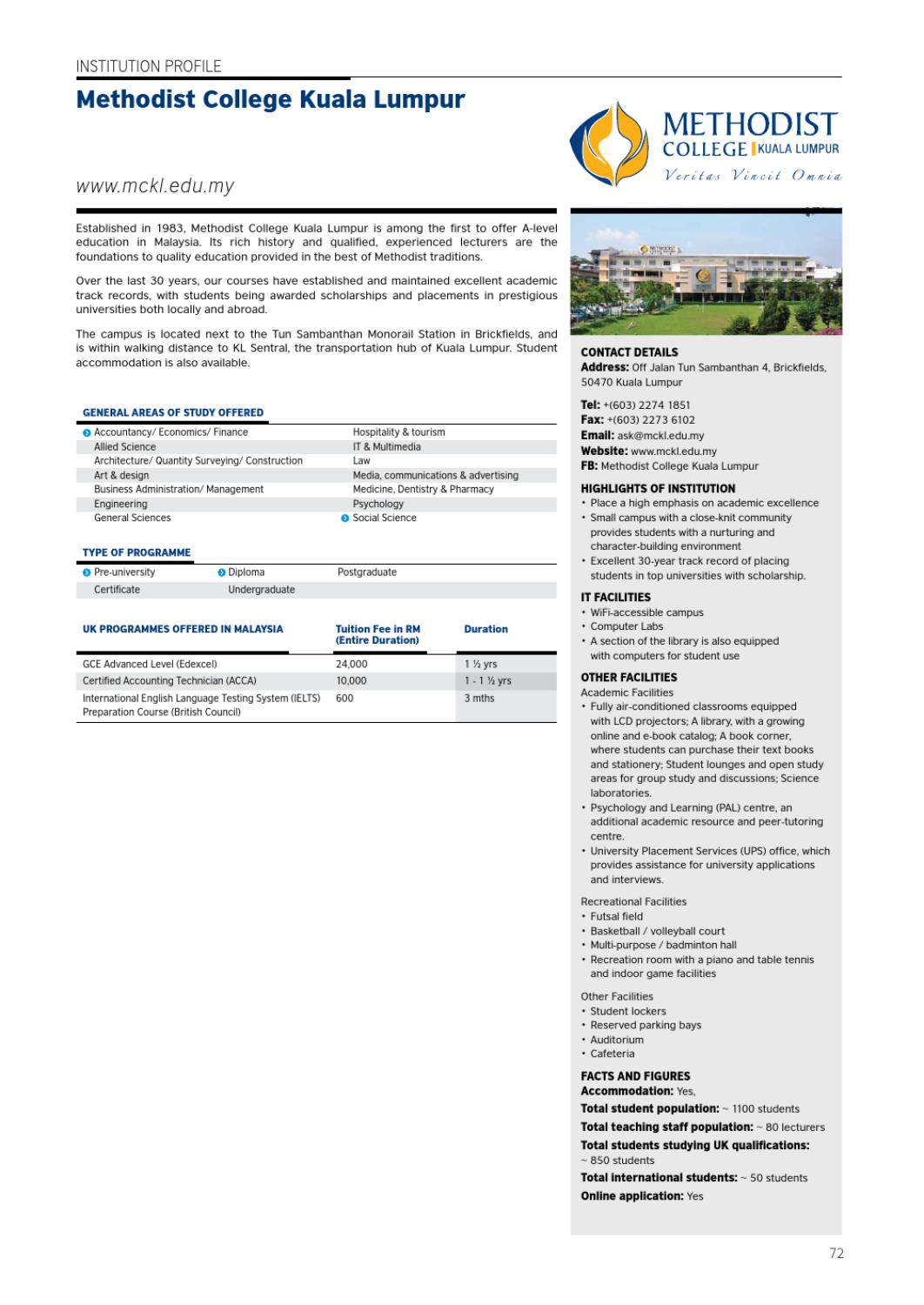 The Guide to UK Qualifications in Malaysia 2013/14 by