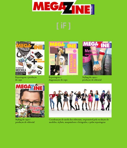 558aab844a4 Revista MEGAZINE by IGOR FIDALGO - issuu