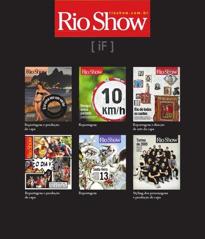 27b125cbb Revista RIO SHOW by IGOR FIDALGO - issuu