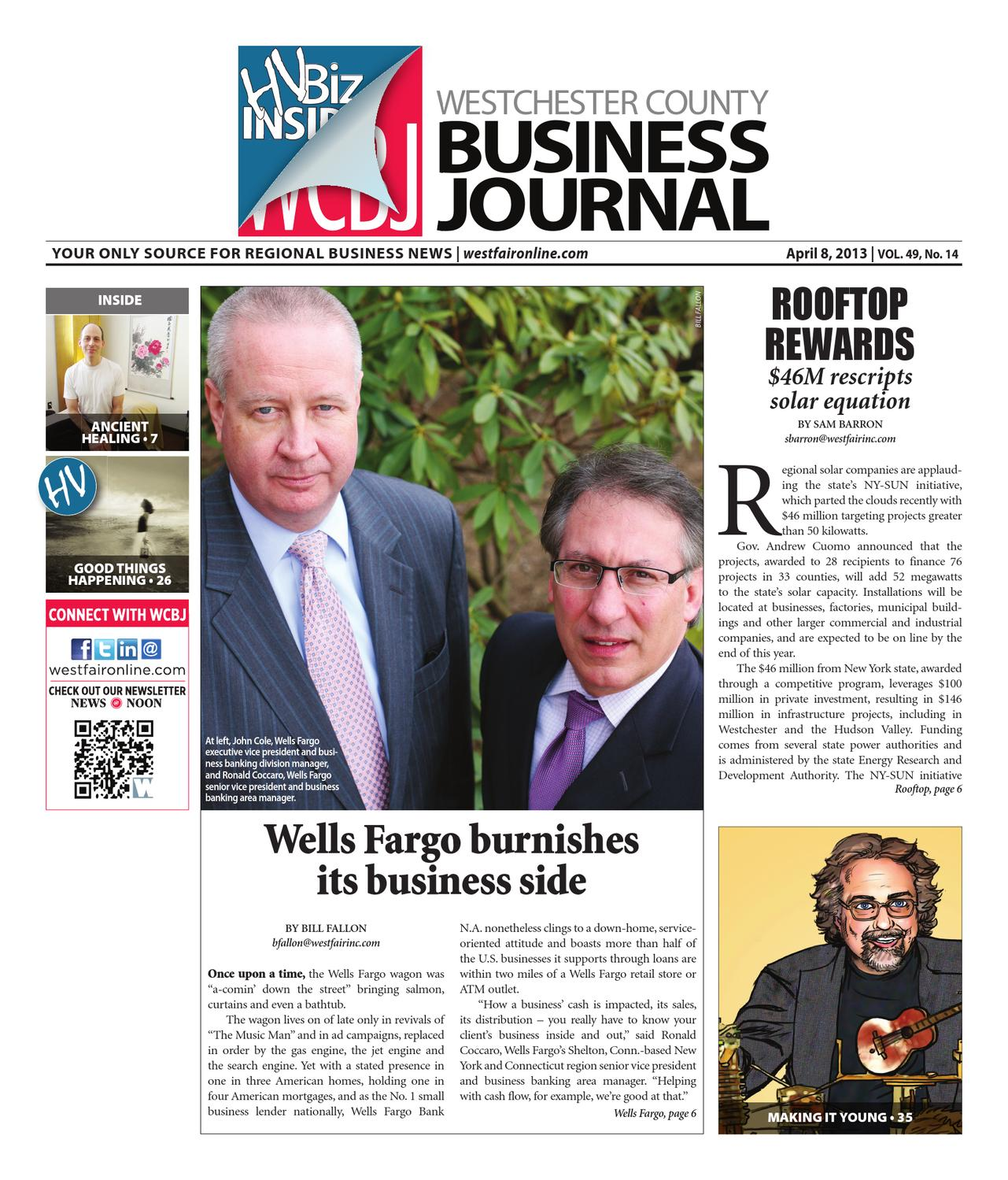Westchester County Business Journal 040813 By Wag Magazine Issuu