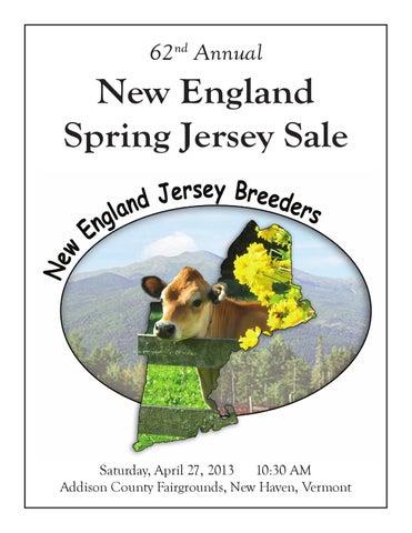 62nd New England Spring Jersey Sale by AJCA/NAJ/JMS - issuu