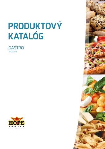 fc797add110a HO PE Family - Produktový katalóg - Gastro 2012 2013 by Hope Hope ...