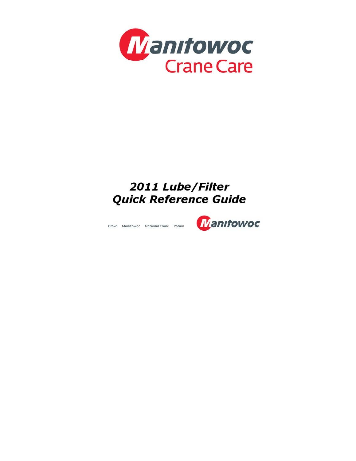2011 Lube/Filter Quick Reference Guide by Winsby Inc  - issuu