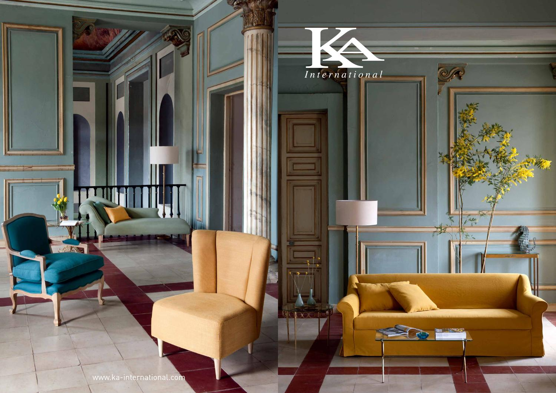 Cat logo nuevos muebles tapizados ka international by ka for Ka international tessuti arredamento