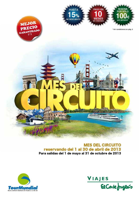 Catalogo De Viajes El Corte Ingles Circuitos Verano 2013 By Revistas En Linea Issuu