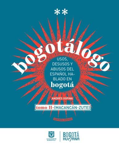 Bogotálogo tomo II by Yessica Acosta - issuu 9fd7eef2e4f81