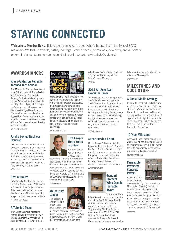 Builders\' Digest by BATC-Housing First Minnesota - issuu