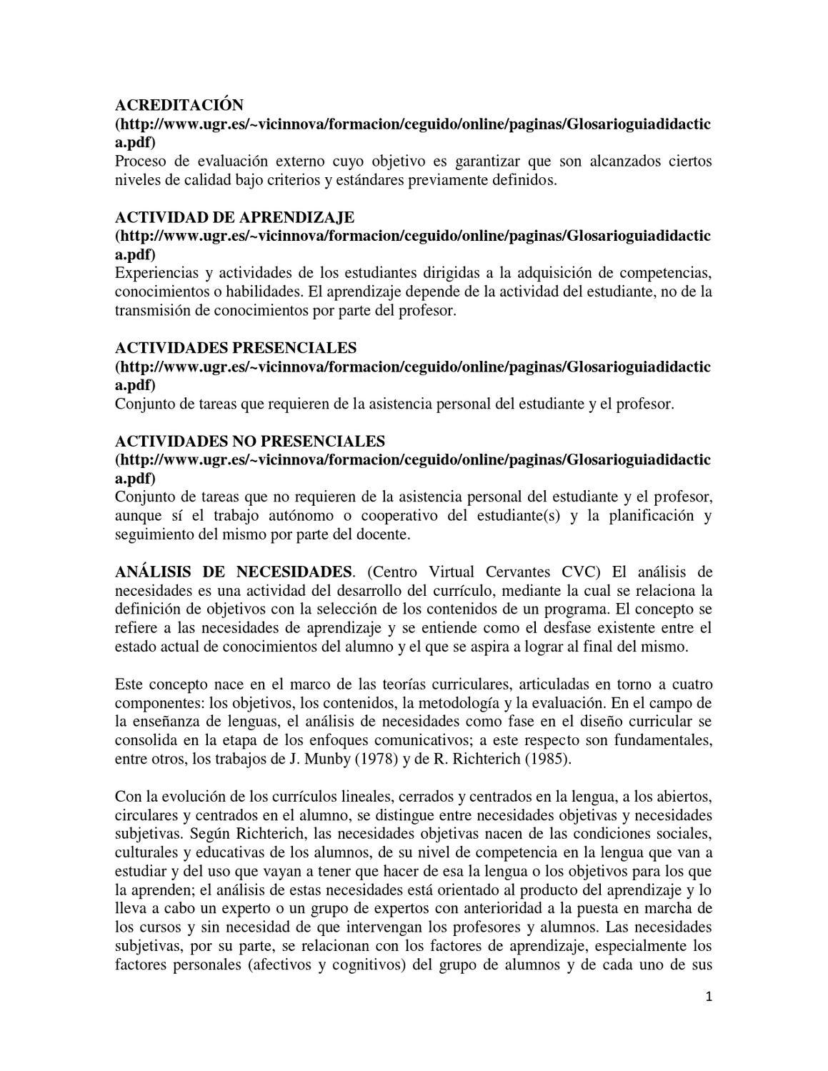 Glosario de didáctica by Guillermo Espíndola - issuu