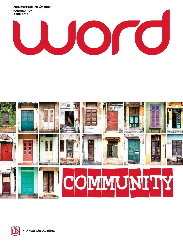 Word Ha Noi April 2013 by Word Vietnam issuu