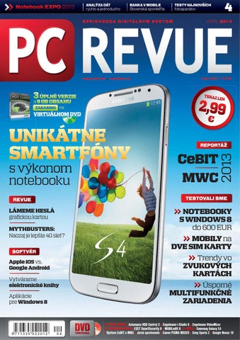 9c7a749aa PC REVUE 4/2013 by Digital Visions - issuu