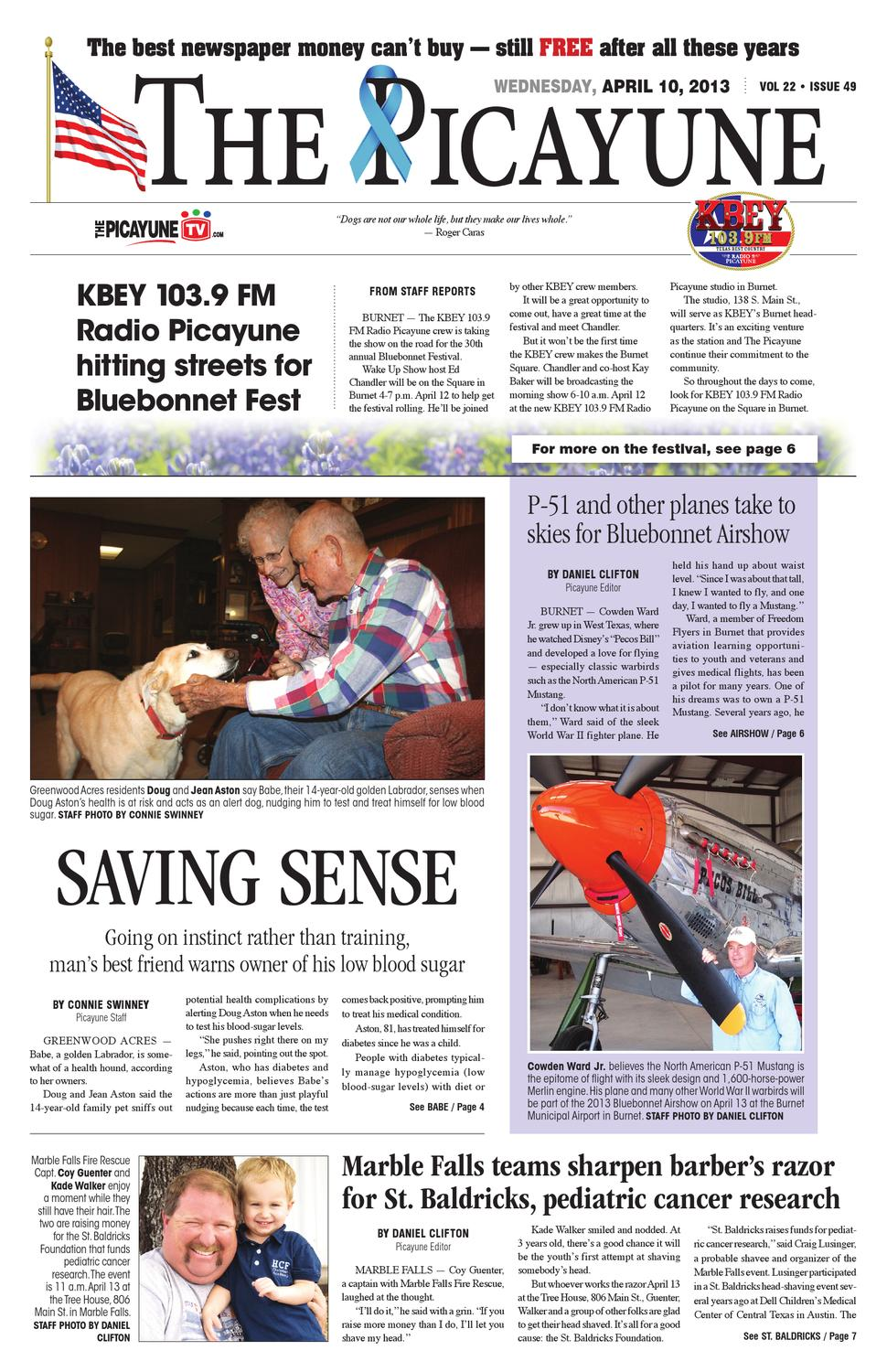 The Picayune - April 10, 2013 edition by 101 Corpus Christi