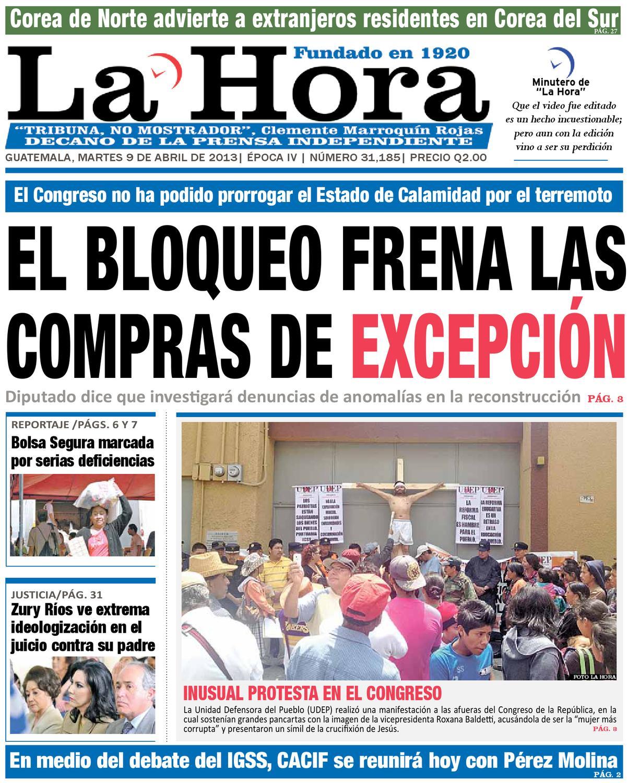 Diario La Hora 09-04-2013 by La Hora - issuu