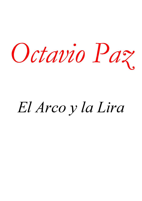 El arco y la lira by Celene Garcia - issuu