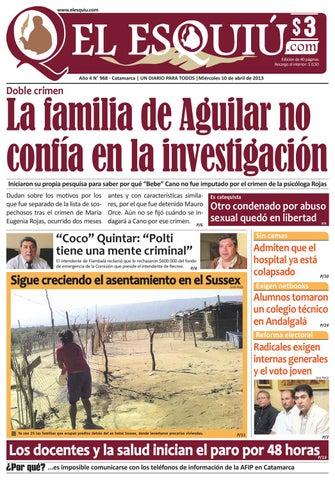El Esquiu.com, miércoles 10 de abril de 2013 by Editorial El Esquiú ...
