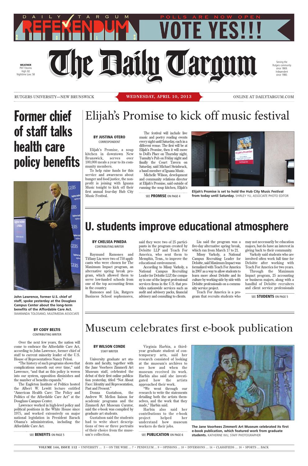 The Daily Targum 2013-04-10 by The Daily Targum - issuu 2277ab067