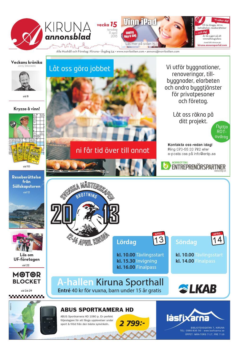finest selection a4235 1d87d Kiab 2013 vecka15 by Svenska Civildatalogerna AB - issuu