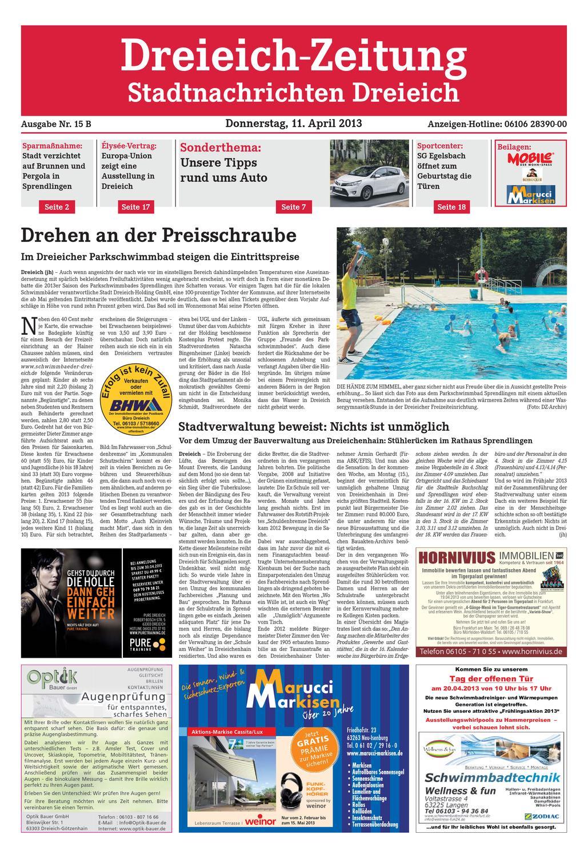 DZ Line 015 13 B By Dreieich Zeitung Fenbach Journal Issuu