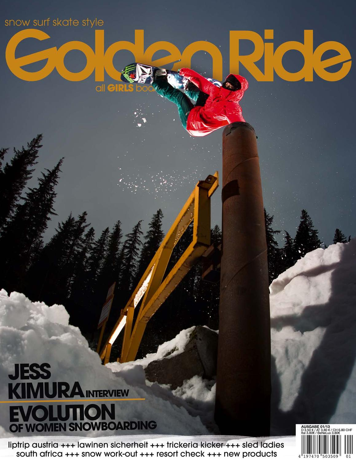Golden Ride 0113 by Golden Ride Magazine – Boardsport