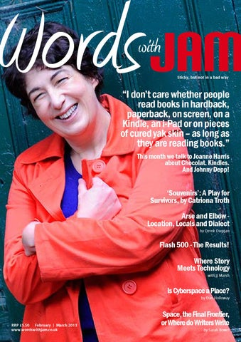 Words with jam april 2013 issue by words with jam issuu page 1 fandeluxe Choice Image