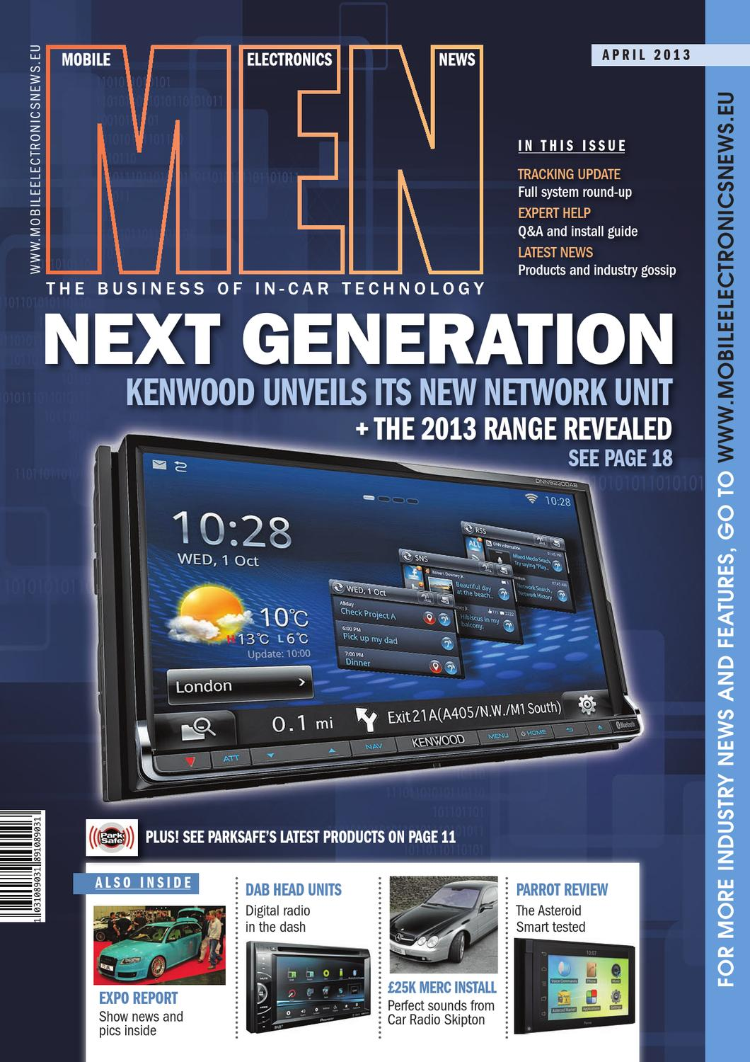Mobile Electronics News April 2013 By Webwax Issuu Kenwood Car Audio Touch Screen In Addition Monte Carlo Wiring Diagram
