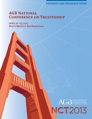National Conference on Trusteeship --- FULL PROGRAM by Laura Lilly