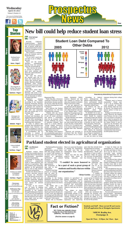 Prospectus News 4/10 by The Prospectus - issuu