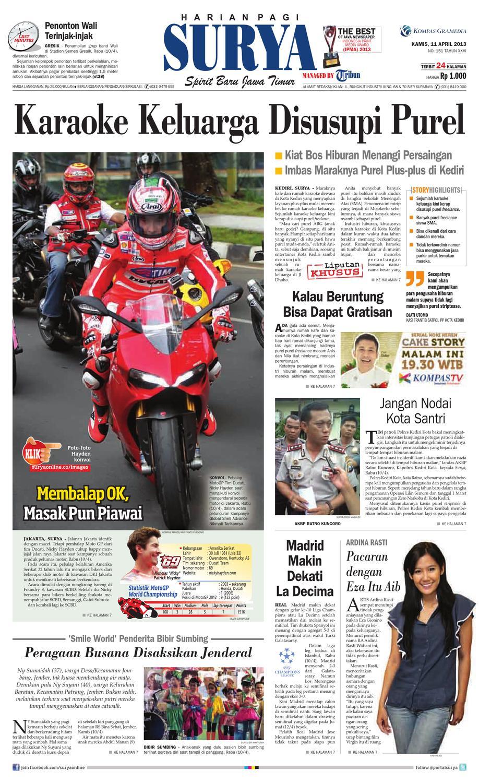E Paper Surya Edisi 11 April 2013 By Harian Issuu Keripik Bawang Srikandi Kontan