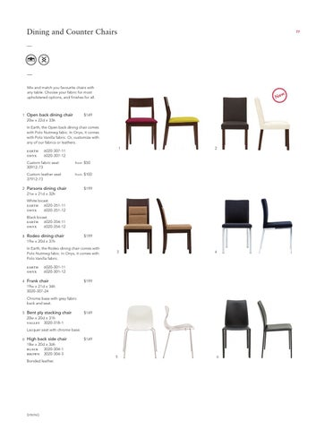 Page 79. Dining and Counter Chairs  sc 1 st  Issuu & EQ3 Autumn 2011 by EQ3 Ltd - issuu