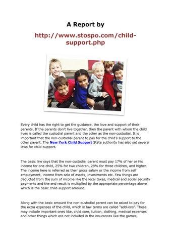 New York child support by syed muntajib - issuu