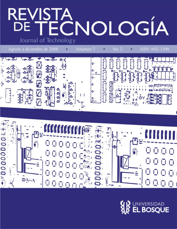 Revista de Tecnología by Universidad El Bosque - issuu