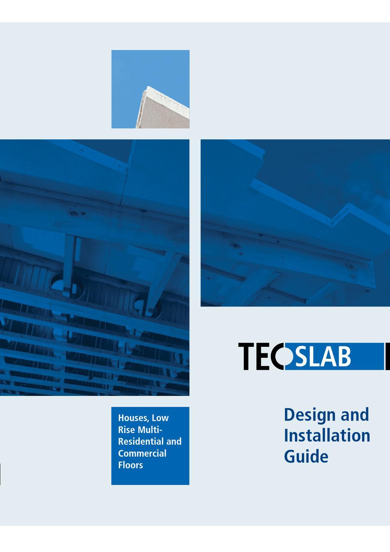 Marketing TecSlab Installation Guide by iformat - issuu