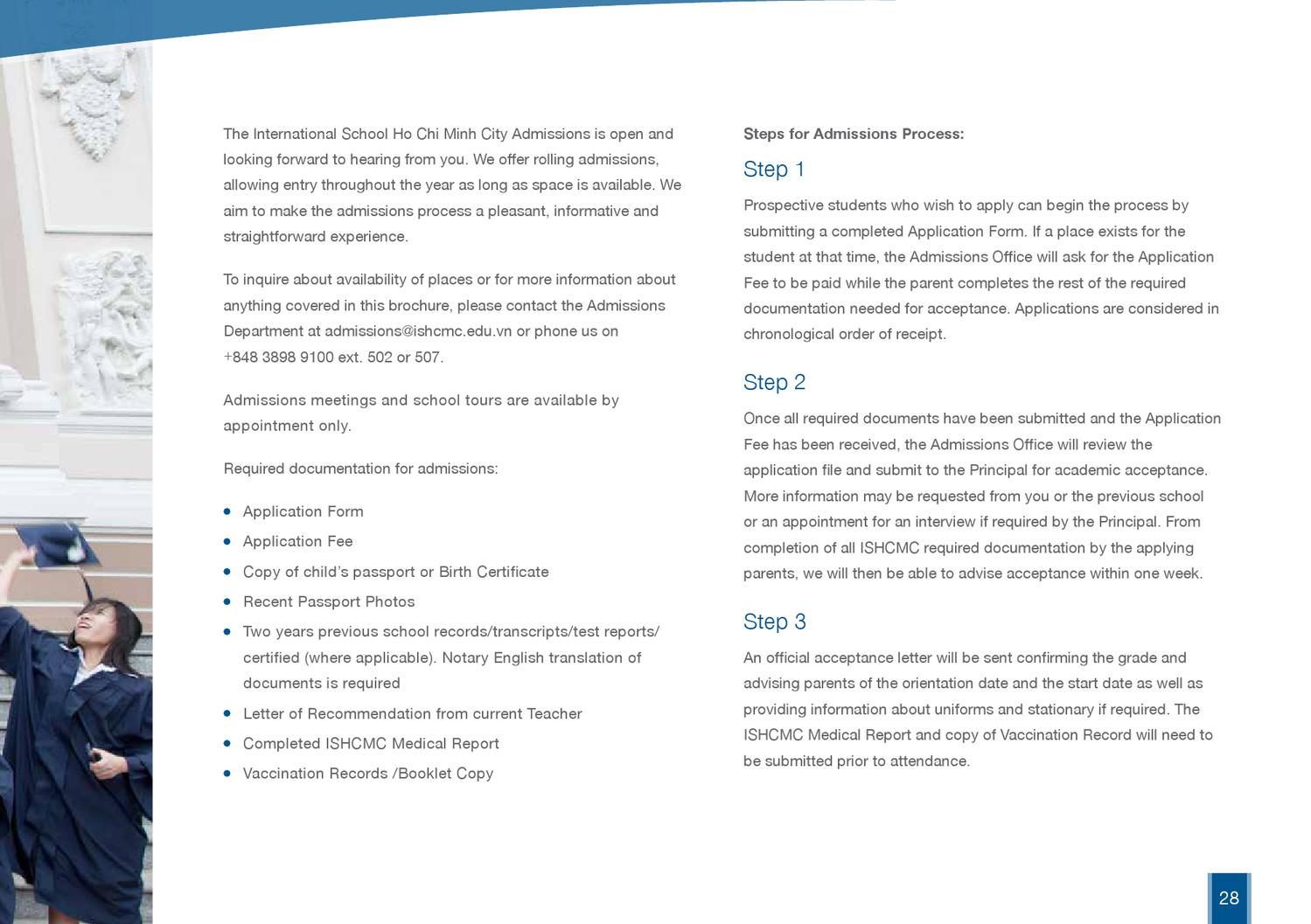 ISHCMC Prospectus 2013