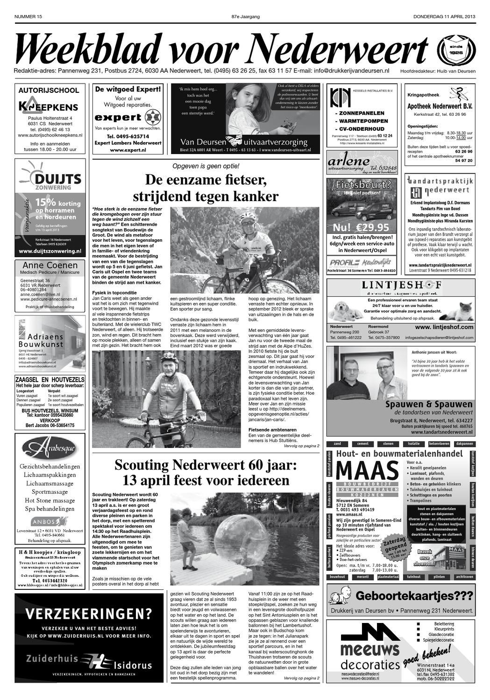 Weekblad voor Nederweert by Nederweert24 issuu