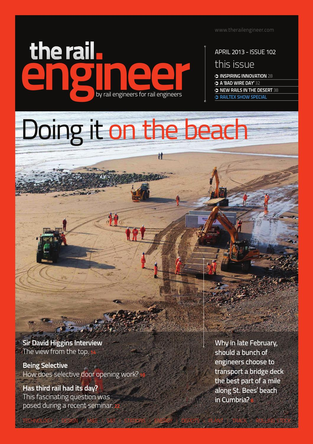The Rail Engineer Issue 102 April 2013 By Media Issuu Air Conditioning C60 Overhead System Wiring Diagram G Models For