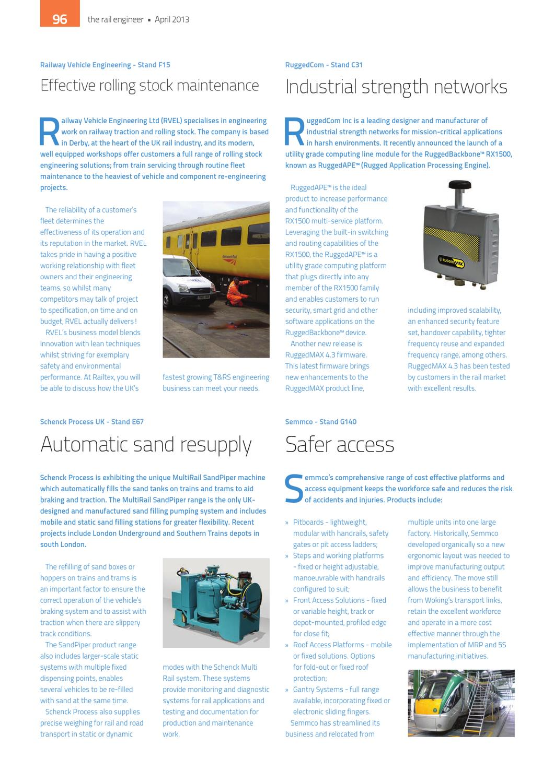 The Rail Engineer - Issue 102 - April 2013 by Rail Media - issuu