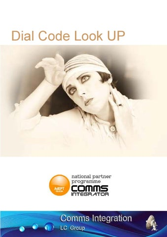 Uk Dialling Codes by iC Digital Assets - issuu