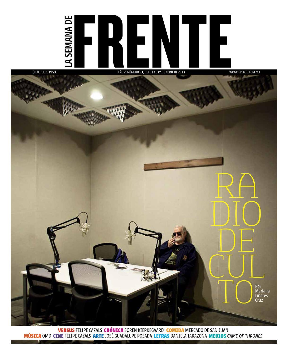 FRENTE N.93 by La semana de Frente - issuu